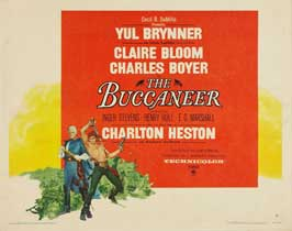 The Buccaneer - 22 x 28 Movie Poster - Half Sheet Style A