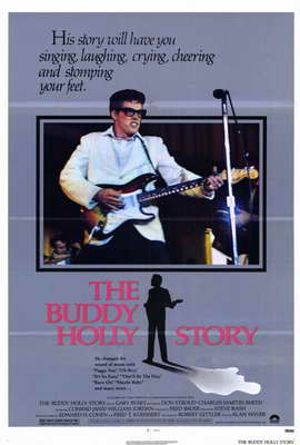 The Buddy Holly Story - 27 x 40 Movie Poster - Style A