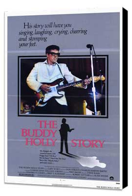 The Buddy Holly Story - 27 x 40 Movie Poster - Style A - Museum Wrapped Canvas