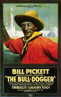 The Bull Dogger - 43 x 62 Movie Poster - Bus Shelter Style A