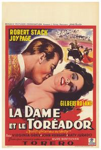 Bullfighter & the Lady - 27 x 40 Movie Poster - Belgian Style A