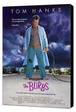 The 'Burbs - 11 x 17 Movie Poster - Style A - Museum Wrapped Canvas