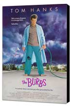 The 'Burbs - 27 x 40 Movie Poster - Style A - Museum Wrapped Canvas