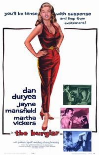 The Burglar - 11 x 17 Movie Poster - Style A