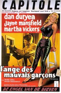 The Burglar - 11 x 17 Movie Poster - Belgian Style A