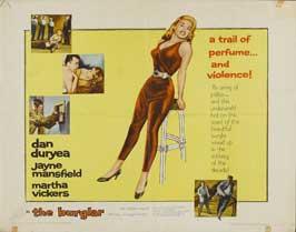 The Burglar - 22 x 28 Movie Poster - Half Sheet Style A