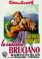 The Burning Hills - 11 x 17 Movie Poster - Italian Style A