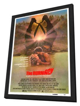 The Burning - 27 x 40 Movie Poster - Style A - in Deluxe Wood Frame