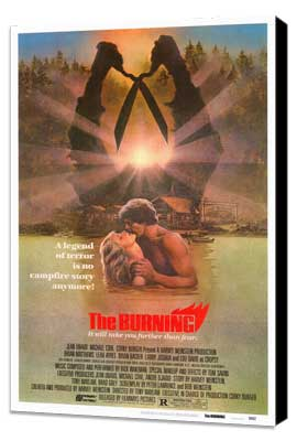 The Burning - 27 x 40 Movie Poster - Style A - Museum Wrapped Canvas