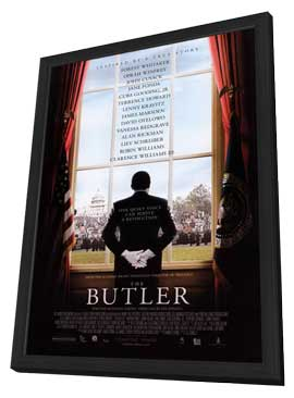 The Butler - 27 x 40 Movie Poster - Style A - in Deluxe Wood Frame