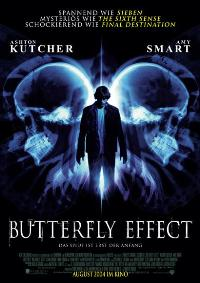The Butterfly Effect - 11 x 17 Movie Poster - German Style A