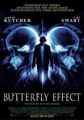 The Butterfly Effect - 27 x 40 Movie Poster - German Style A