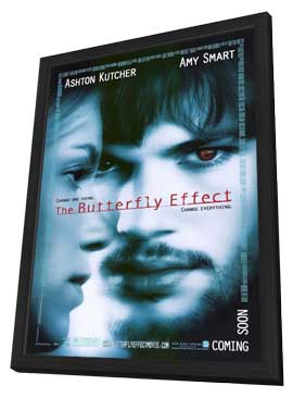 The Butterfly Effect - 11 x 17 Movie Poster - Style A - in Deluxe Wood Frame