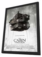 The Cabin in the Woods - 11 x 17 Movie Poster - Style B - in Deluxe Wood Frame