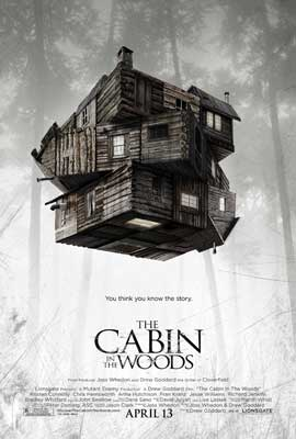 The Cabin in the Woods - 27 x 40 Movie Poster - Style A