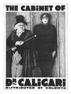 The Cabinet of Dr. Caligari - 11 x 17 Movie Poster - Style C