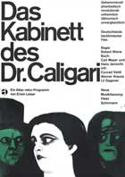 The Cabinet of Dr. Caligari - 27 x 40 Movie Poster - German Style A