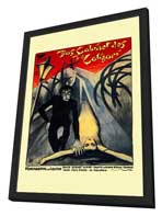 The Cabinet of Dr. Caligari - 11 x 17 Poster - Foreign - Style A - in Deluxe Wood Frame