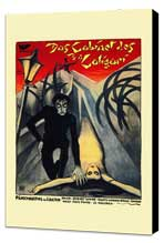 The Cabinet of Dr. Caligari - 11 x 17 Poster - Foreign - Style A - Museum Wrapped Canvas