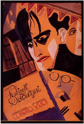 The Cabinet of Dr. Caligari - 11 x 17 Poster - Foreign - Style C