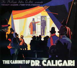The Cabinet of Dr. Caligari - 11 x 17 Poster - Foreign - Style B