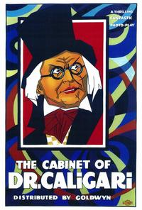 The Cabinet of Dr. Caligari - 27 x 40 Movie Poster - Style A