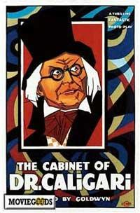 The Cabinet of Dr. Caligari - 43 x 62 Movie Poster - Bus Shelter Style A