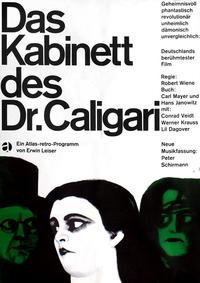 The Cabinet of Dr. Caligari - 11 x 17 Movie Poster - German Style A