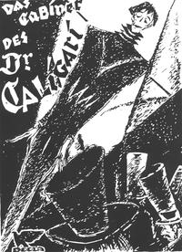The Cabinet of Dr. Caligari - 11 x 17 Movie Poster - German Style B