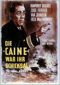 The Caine Mutiny - 11 x 17 Movie Poster - German Style A