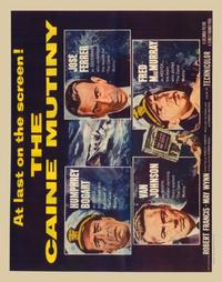 The Caine Mutiny - 22 x 28 Movie Poster - Half Sheet Style A