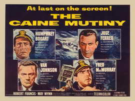 The Caine Mutiny - 11 x 17 Movie Poster - Style D