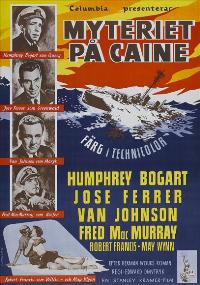 The Caine Mutiny - 27 x 40 Movie Poster - Swedish Style A