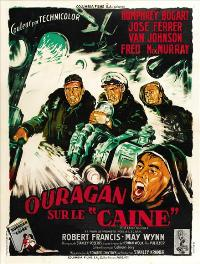 The Caine Mutiny - 27 x 40 Movie Poster - French Style B