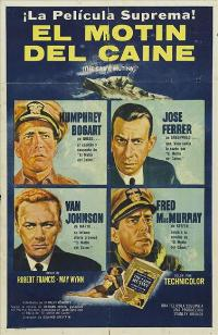 The Caine Mutiny - 27 x 40 Movie Poster - Spanish Style A