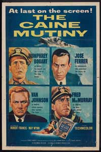 The Caine Mutiny - 11 x 17 Movie Poster - Style G