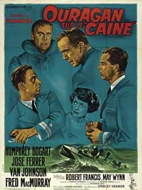 The Caine Mutiny - 11 x 17 Movie Poster - French Style C