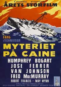 The Caine Mutiny - 11 x 17 Movie Poster - Swedish Style B