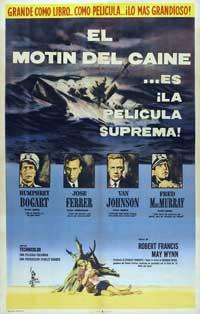 The Caine Mutiny - 11 x 17 Movie Poster - Spanish Style B