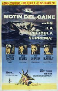 The Caine Mutiny - 27 x 40 Movie Poster - Spanish Style B