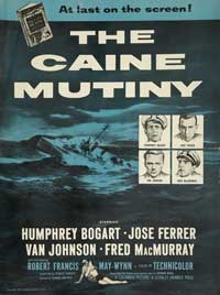 The Caine Mutiny - 11 x 17 Movie Poster - Style H