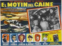The Caine Mutiny - 11 x 14 Poster Spanish Style G