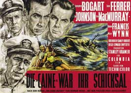 The Caine Mutiny - 11 x 17 Movie Poster - German Style H