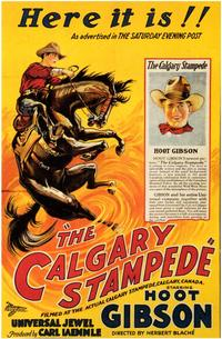 The Calgary Stampede - 43 x 62 Movie Poster - Bus Shelter Style A