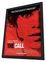 The Call - 27 x 40 Movie Poster - Style A - in Deluxe Wood Frame