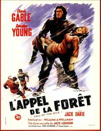 Call of the Wild, The - 11 x 17 Movie Poster - French Style A