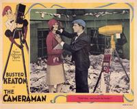 The Cameraman - 11 x 14 Movie Poster - Style A