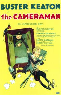 The Cameraman - 43 x 62 Movie Poster - Bus Shelter Style A