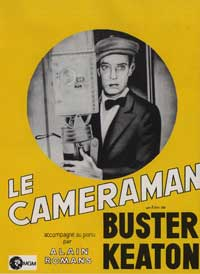 The Cameraman - 11 x 17 Movie Poster - French Style A