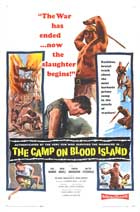 The Camp on Blood Island - 11 x 17 Movie Poster - Style B